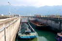 Three Gorges Dam Lock 1 rising